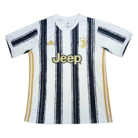 20/21 Juventus Home Black&White Soccer Jerseys Shirt