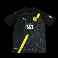20/21 Borussia Dortmund Away Black Soccer Jersey Shirt