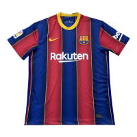 20/21 Barcelona Home Blue&Red Soccer Jerseys Shirt