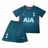 20/21 Tottenham Hotspur Away Dark Green Children's Jerseys Kit(Shirt+Short)