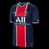 20/21 PSG Home Navy&Red Soccer Jerseys Shirt(Player Version)