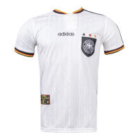 1996 Germany Retro Home Soccer Jersey Shirt