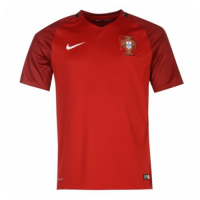 2016 Portugal Home Red Retro Jerseys Shirt