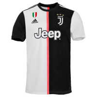 19-20 Juventus Home Black&White Soccer Jerseys Shirt(Player Version)