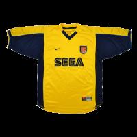 99/00 Arsenal Away Yellow Retro Jerseys Shirt