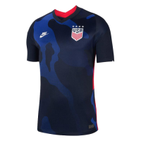 2020 USA Away Four Stars Blue Soccer Jerseys Shirt