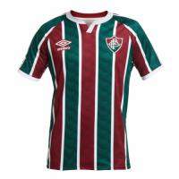20/21 Fluminense FC Home Green&Red Soccer Jerseys Shirt