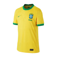 2020 Brazil Home Yellow Soccer Jerseys Shirt