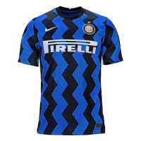 20/21 Inter Milan Home Navy&Black Soccer Jerseys Shirt(Player Version)