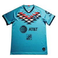 20/21 Club America Third Away Blue Soccer Jerseys Shirt