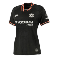 19/20 Chelsea Third Away Black Women's Jerseys Shirt