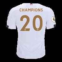 """19/20 Liverpool Away """"Champion #20 Golden"""" Soccer Shirt"""
