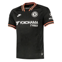19/20 Chelsea Third Away Black Soccer Jerseys Whole Kit(Shirt+Short+Socks)