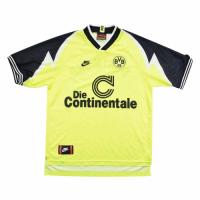 95/96 Borussia Dortmund Home Yellow&Black Retro Soccer Jerseys Shirt