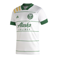 2020 Portland Timbers Away White Soccer Jerseys Shirt