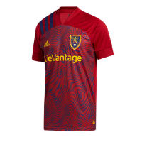 2020 Real Salt Lake Home Red Jerseys Shirt
