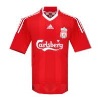 08/09 Liverpool Home Red Retro Jerseys Shirt