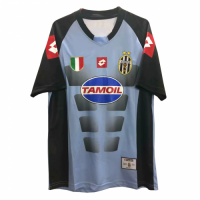 02/03 Juventus Soccer Goalkeeper Blue&Black Retro Jerseys Shirt