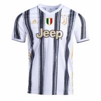 20/21 Juventus Home Black&White Soccer Jerseys Shirt