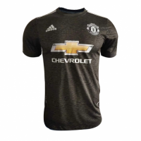 20/21 Manchester United Away Black Jerseys Shirt(Player Version)