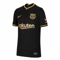 20/21 Barcelona Away Black Soccer Jerseys Shirt(Player Version)