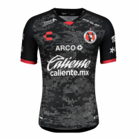20/21 Club Tijuana Home Black Soccer Jerseys Shirt