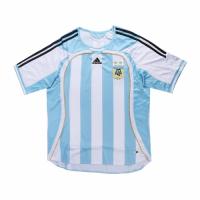 2006 World Cup Argentina Home Blue&White Retro Soccer Jerseys Shirt