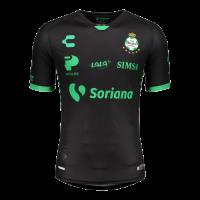 20/21 Santos Laguna Away Black Soccer Jerseys Shirt