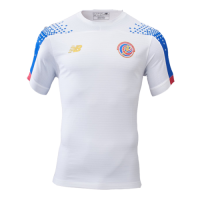 19/20 Costa Rica Gold Cup Away White Soccer Jerseys Shirt