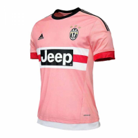 15/16 Juventus Third Away Pink Soccer Retro Jerseys Shirt