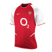 02/03 Arsenal Home Red&White Retro Jerseys Shirt
