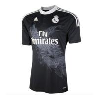 14/15 Real Madrid Away Black Retro Jerseys Shirt