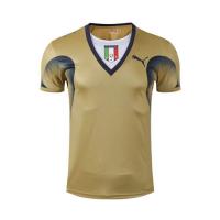 2006 World Cup Champion Italy Goalkeeper Golden Retro Soccer Jerseys Shirt