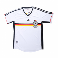 1998 World Cup Germany Home Retro Soccer Jerseys Shirt