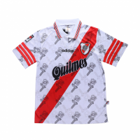 96/97 River Plate Home White Retro Jerseys Shirt