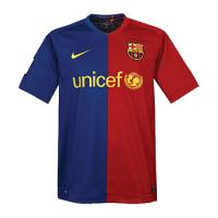 08/09 Barcelona Home Red&Blue Retro Soccer Jerseys Shirt