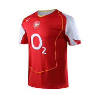 04/05 Arsenal Home Red&White Retro Jerseys Shirt
