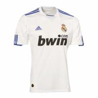 10/11 Real Madrid Home White Retro Jerseys Shirt