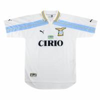 99/00 Lazio Away White Retro Soccer Jerseys Shirt