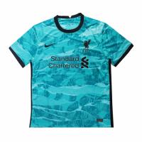 20/21 Liverpool Away Green Soccer Jerseys Shirt