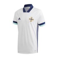 2020 Northern Ireland Away White Jerseys Shirt
