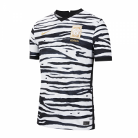 2020 South Korea Away Black&White Soccer Jerseys Shirt