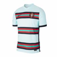 2020 Portugal Away Light Blue Jerseys Shirt(Player Version)