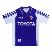 99/00 Fiorentina Home Purple Retro Soccer Jerseys Shirt