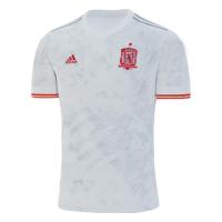 2020 Spain Away White Soccer Jerseys Shirt