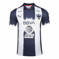 20/21 Monterrey Home Navy&White Soccer Jerseys Shirt