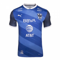 20/21 Monterrey Away Blue Soccer Jerseys Shirt