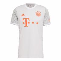 20/21 Bayern Munich Away Gray Jerseys Shirt