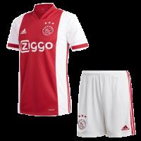 20/21 Ajax Home Red&White Soccer Jerseys Kit(Shirt+Short)