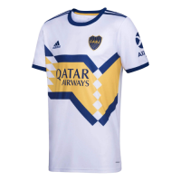 20/21 Boca Juniors Away White Soccer Jerseys Shirt(Player Version)